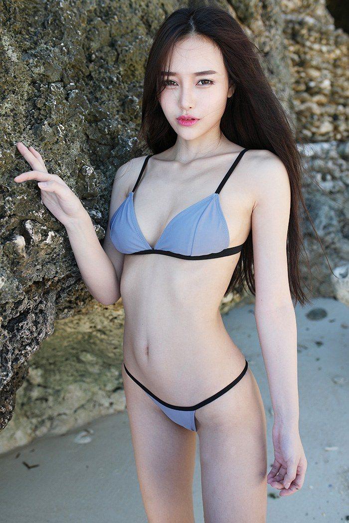 极品女神唐琪儿比基尼秀完美身材 性感美女-第1张