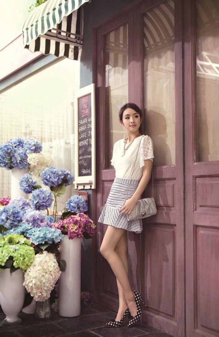 台湾人气女星林依晨性感美腿高清美图 性感美女-第1张