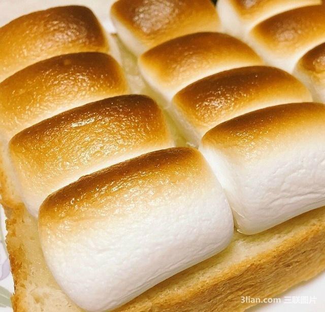 棉花糖土司高清美食图片 美食图片-第1张