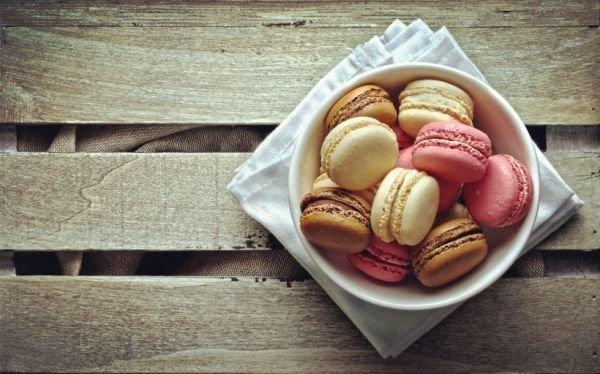 彩色马卡龙图片高清精选 美食图片-第1张