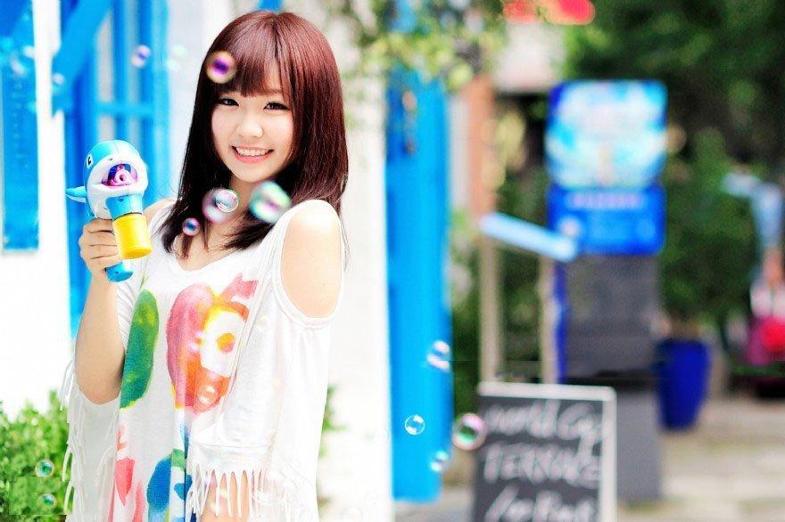 清纯美女夏日生活写真可爱迷人 美女写真-第1张