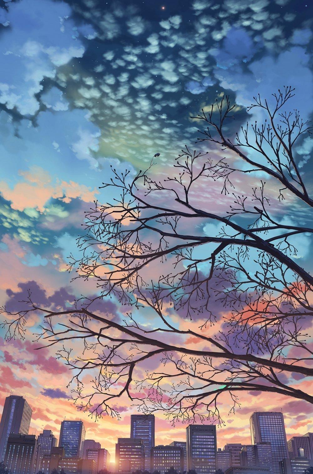 动漫天空图片1025x1549高清动漫图片壁纸1.3MB 动漫图片-第1张