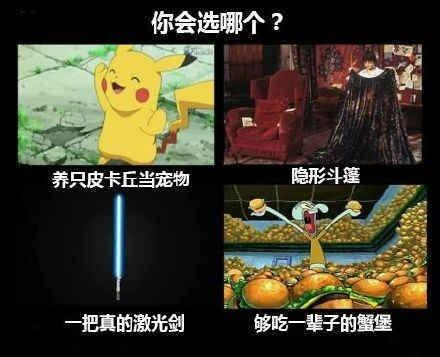 你会选哪个? 爆笑图片-第1张